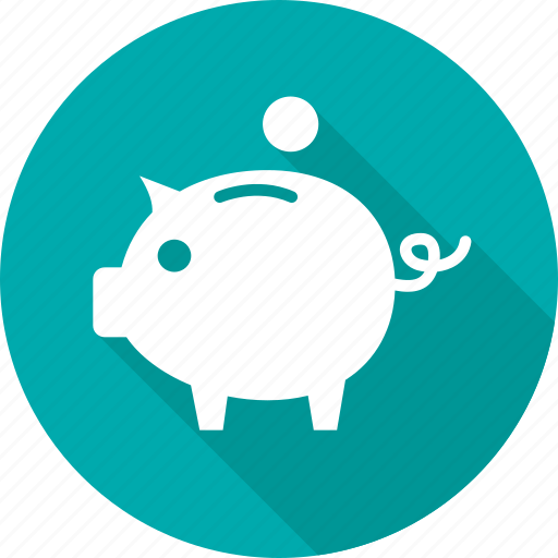 bank, banking, guardar, pig, piggy, save, saving, savings icon