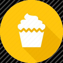 bakery, cake, cupcake, dessert, sweet icon