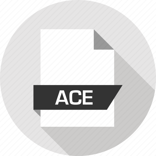 Ace, extension, file, name icon - Download on Iconfinder