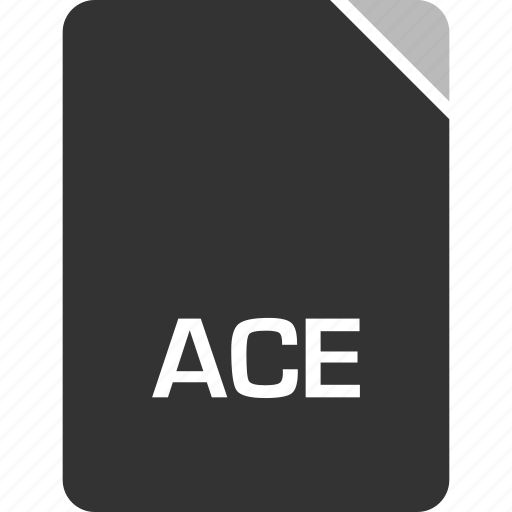 ace, computer, file, tech icon
