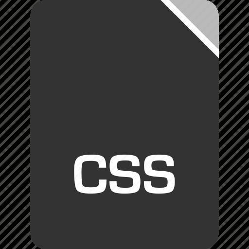 computer, css, file, tech icon