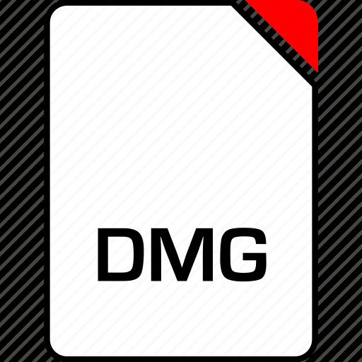 dmg, file, name icon