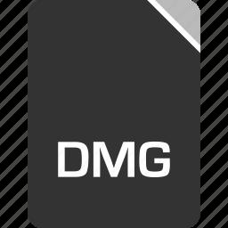 computer, dmg, file, tech icon