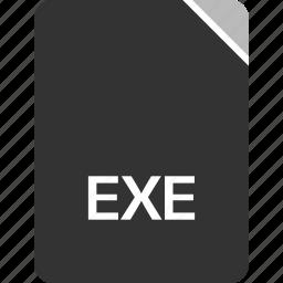 computer, exe, file, tech icon