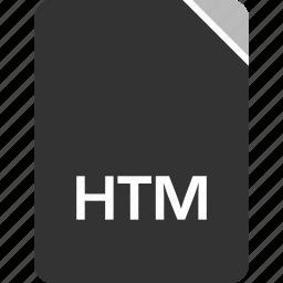 computer, file, htm, tech icon
