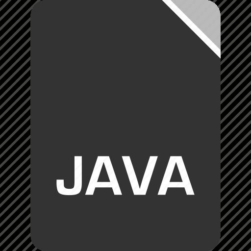 computer, file, java, tech icon