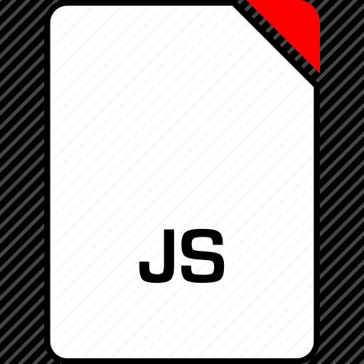 file, javascript, js, name icon