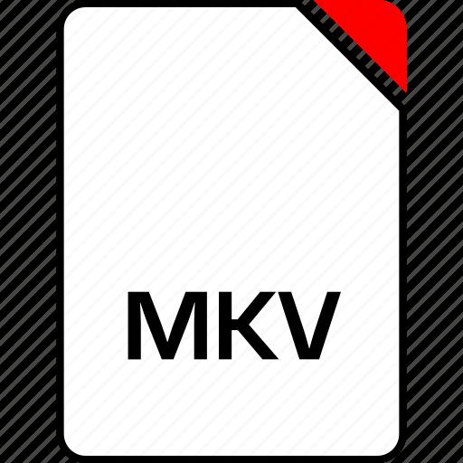 file, mkv, name icon