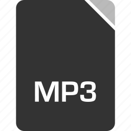 computer, file, mp3, tech icon