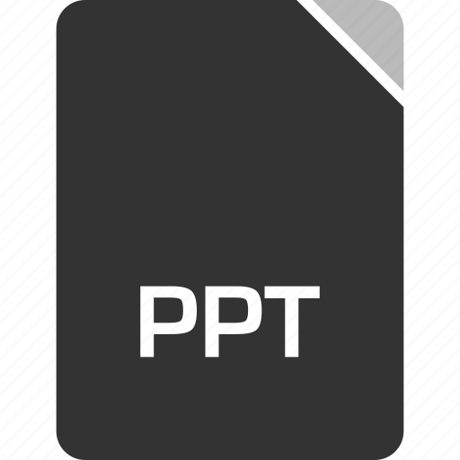 computer, file, ppt, tech icon