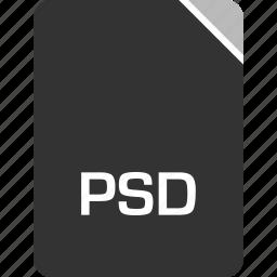 computer, file, psd, tech icon