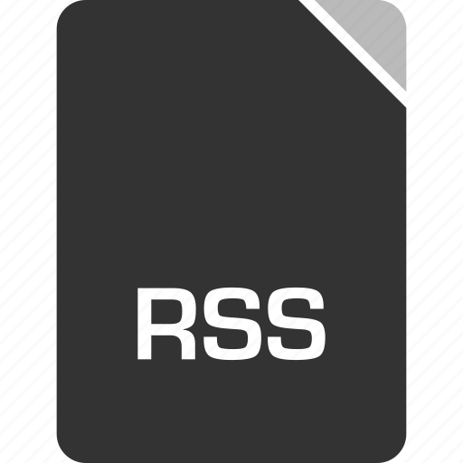 computer, file, rss, tech icon