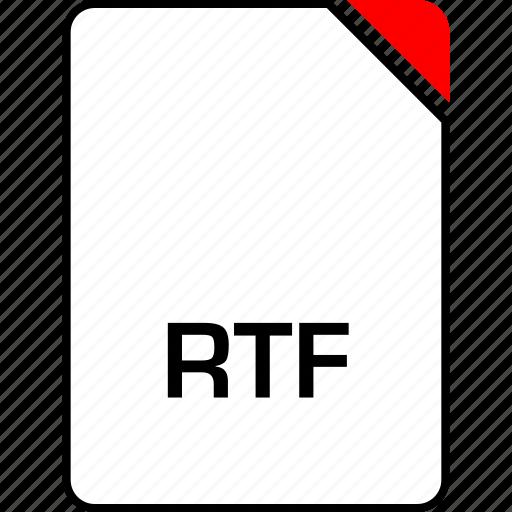 file, mac, name, rtf icon