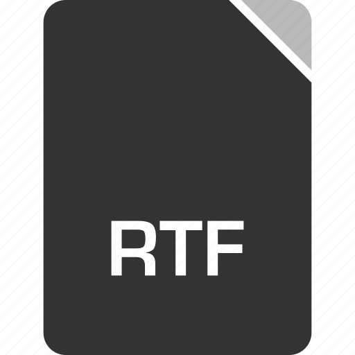 computer, file, rtf, tech icon