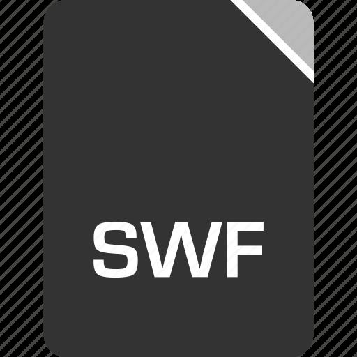 computer, file, swf, tech icon