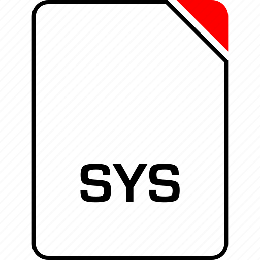file, name, sys, system icon