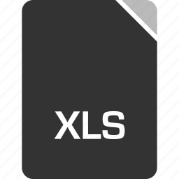 computer, file, tech, xls icon