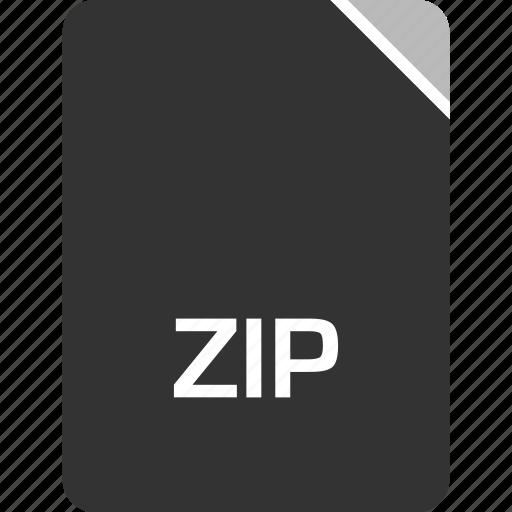 computer, file, tech, zip icon