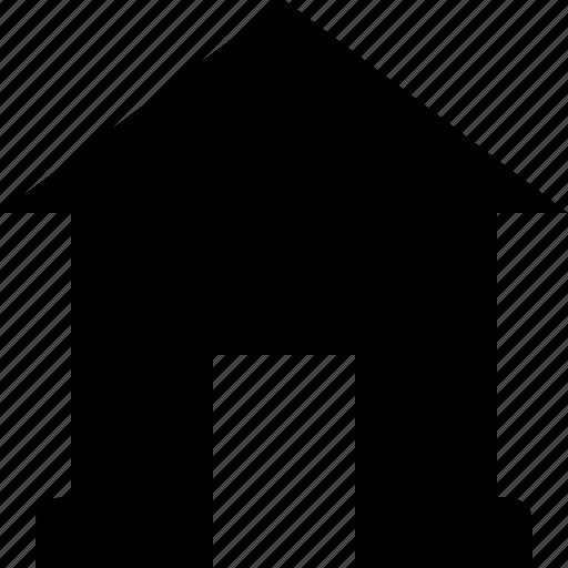 exterior, home, house, real estate icon