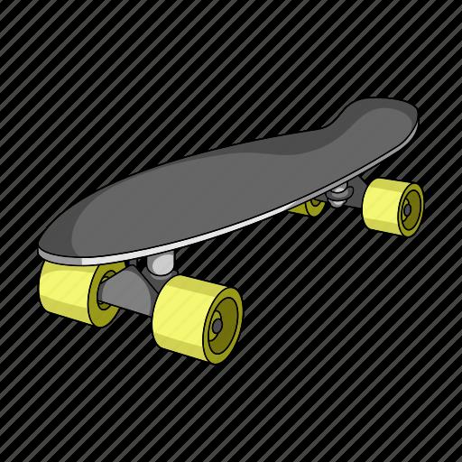 extreme, passion, skateboard, sport icon