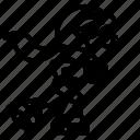 inline, inlineskate, roller, skate, skating icon