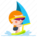 extreme, sport, water, windsurf, windsurfing
