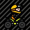 atv, dirt, extreme, quad, vehicle icon