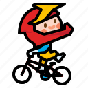 bicycle, bmx, extreme, sport, stunt