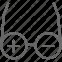 eyeglasses, eyewear, glasses, ophthalmologist, ophthalmology icon