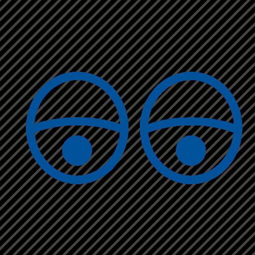 eyes, eyesight, human, iris, organ, sight icon