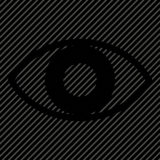 eye, optic, orb, pass, password, show, view icon