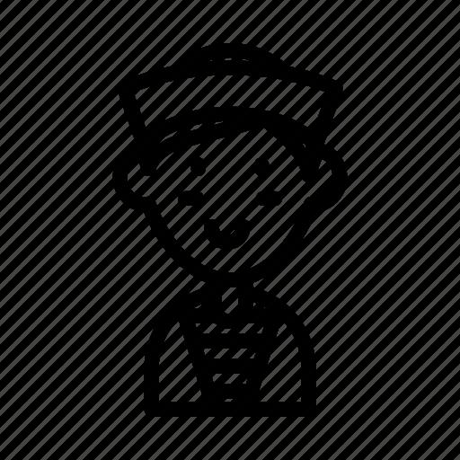 avatar, fisherman, man, pirate, sailor, sailorman, viking icon