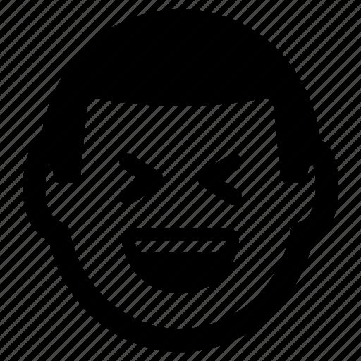 amusing, fun, funny, joke, laugh icon