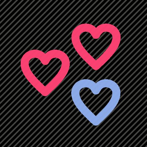 facebook, heart, likes, love, social media icon
