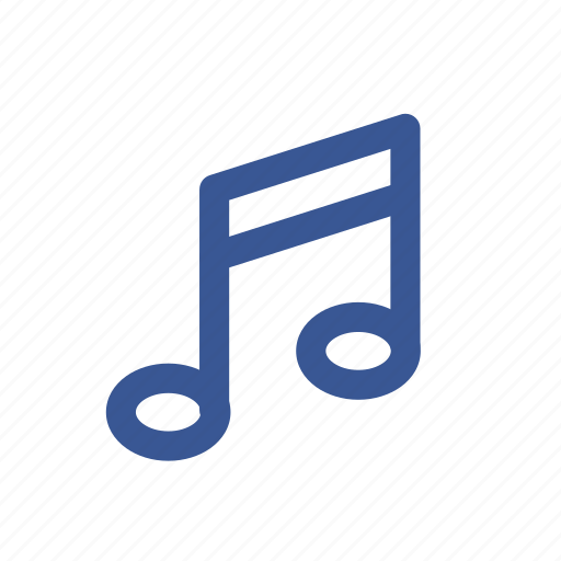 Melody, music, sound, song, social media icon - Download on Iconfinder