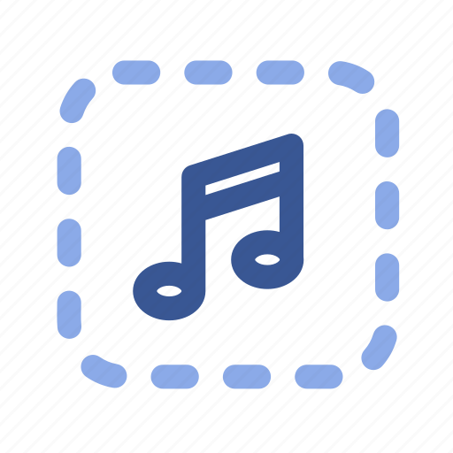 Melody, music, social media, song, sound, facebook icon - Download on Iconfinder