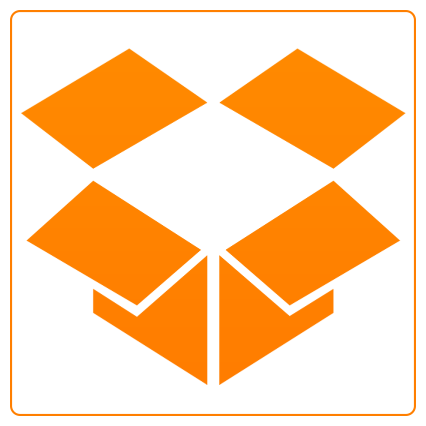 cloud, drop box icon