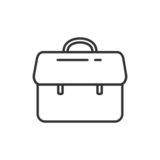 case, facebook, fb, suitcase icon