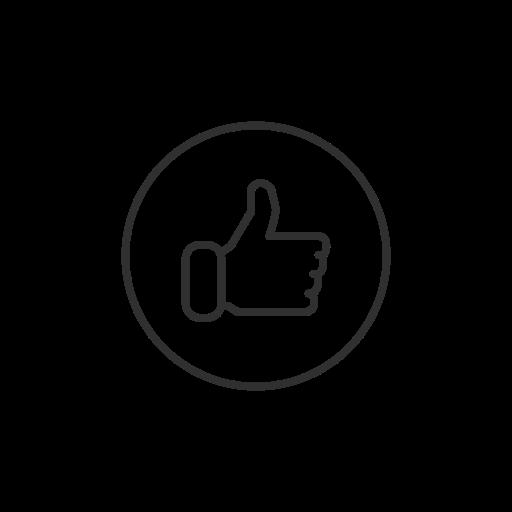emoji, facebook, like, thumbs up icon
