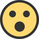 down, emotion, face, facebook, is, website icon