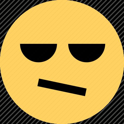 avatar, bored, dude, emoji, emotion, face icon