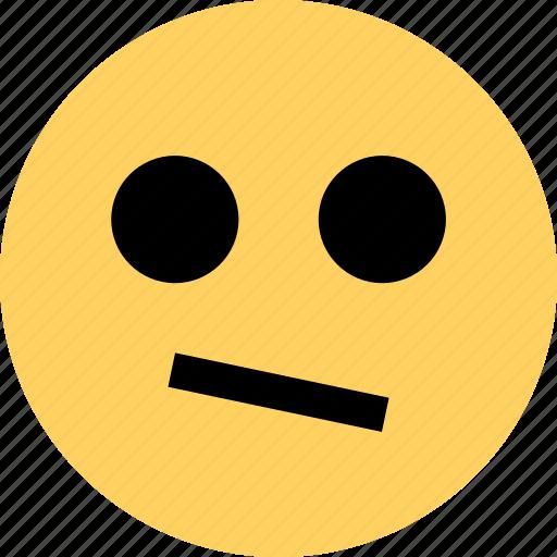 avatar, confused, emoji, emotion, face icon