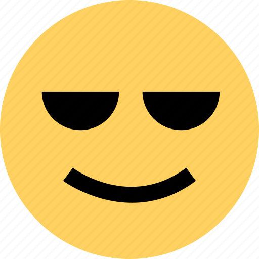 avatar, cool, emoji, emotion, face icon