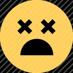 alive, avatar, dead, emoji, emotion, faces, or icon