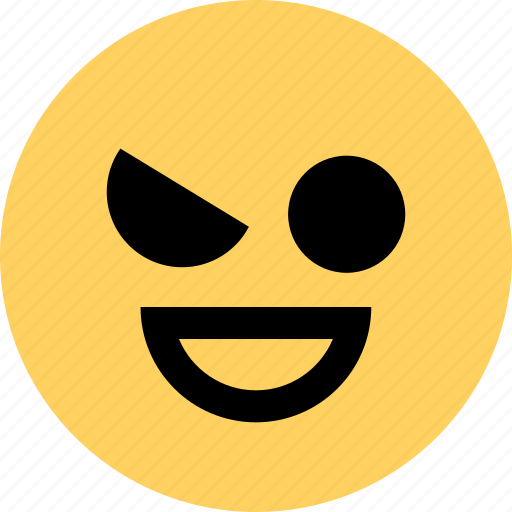 avatar, emoji, emotion, evil, face, somewhat icon
