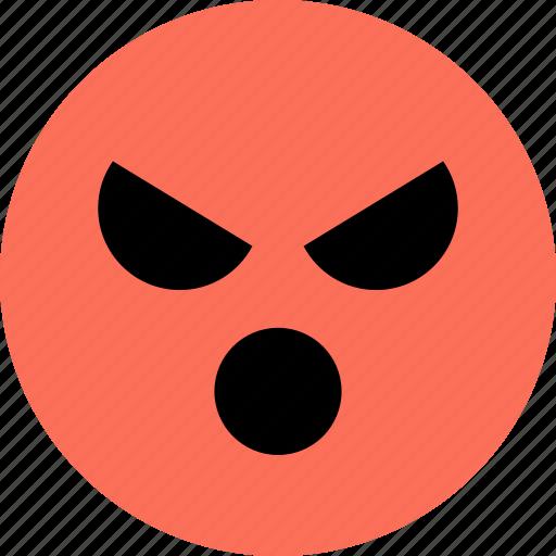 anger, avatar, emoji, emotion, face, gamer icon