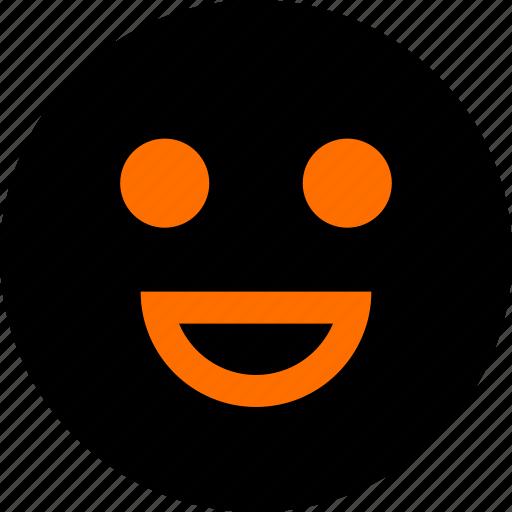 emotion, face, feeling, happ icon