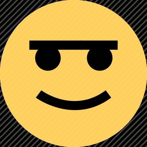 avatar, emoji, emotion, eyebrown, faces, happy icon
