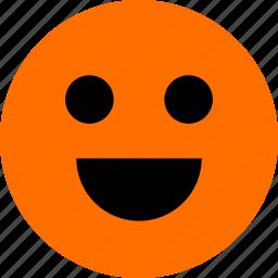 face, feeling, happy, smile icon