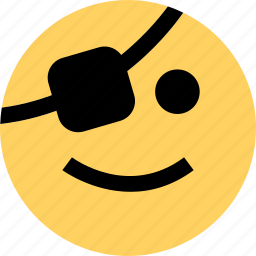 avatar, emoji, emotion, faces, happy, pirate icon